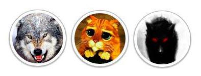 Круглые картинки для аватаров